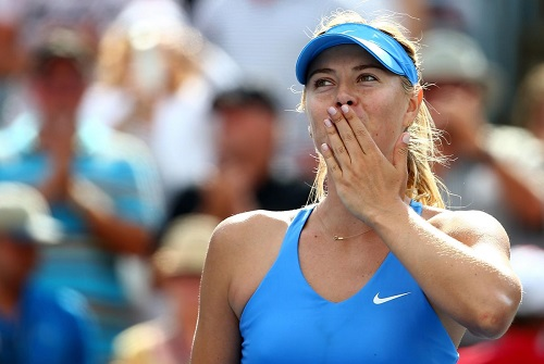 maria sharapova at the rogers cup